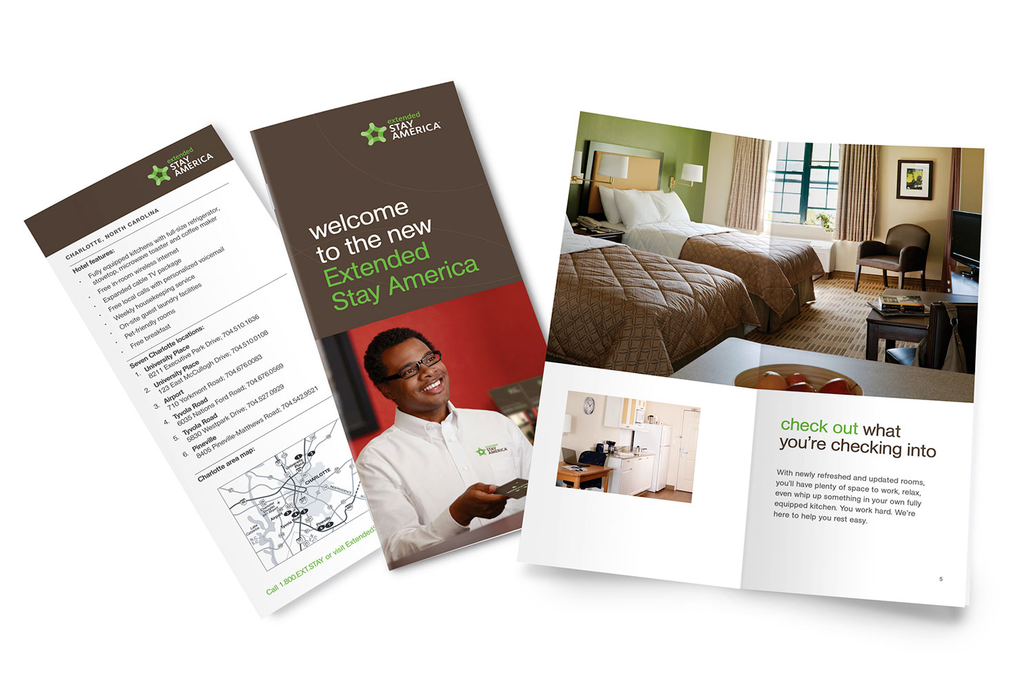 Extended Stay America property brochure