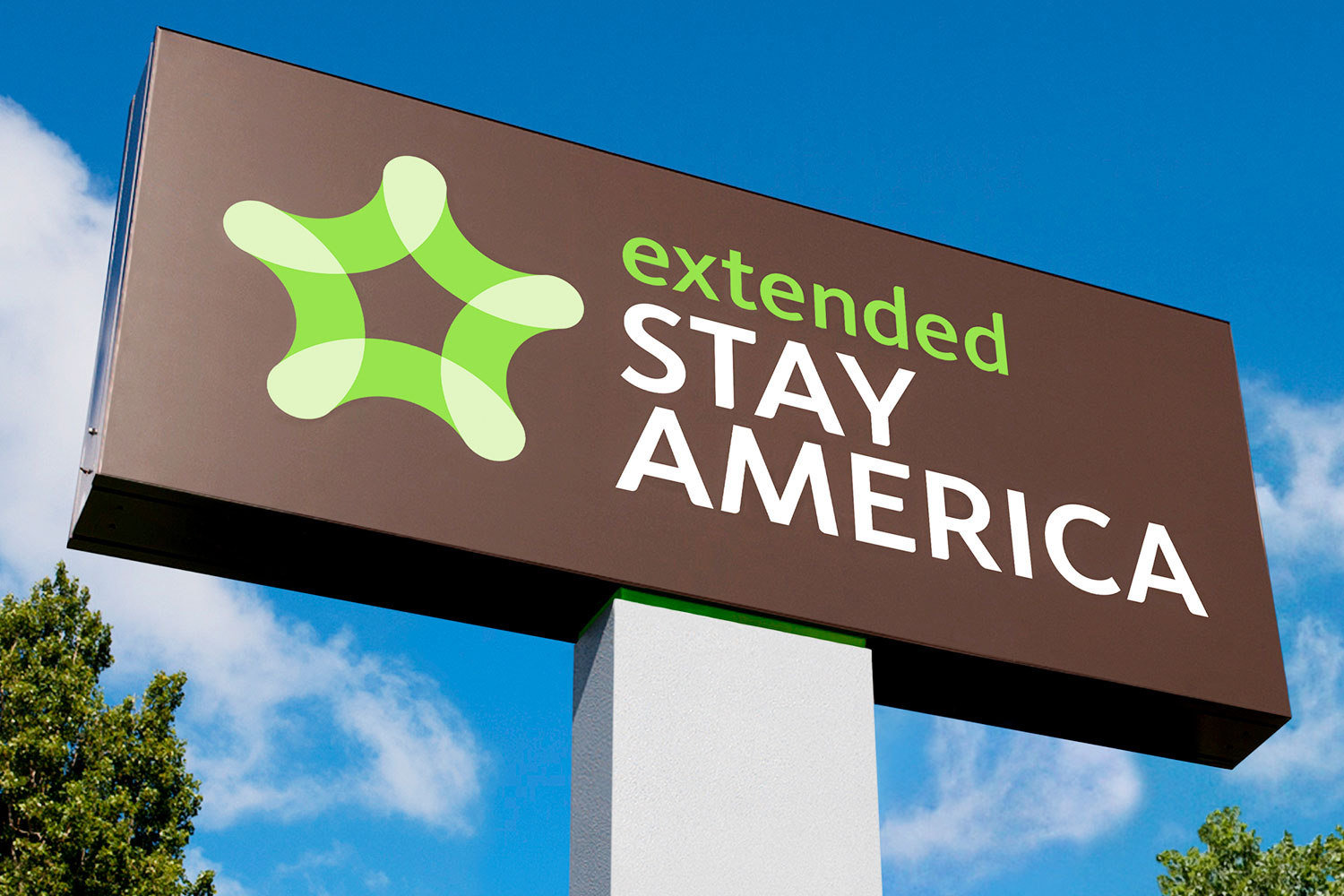 Extended Stay America pylon sign