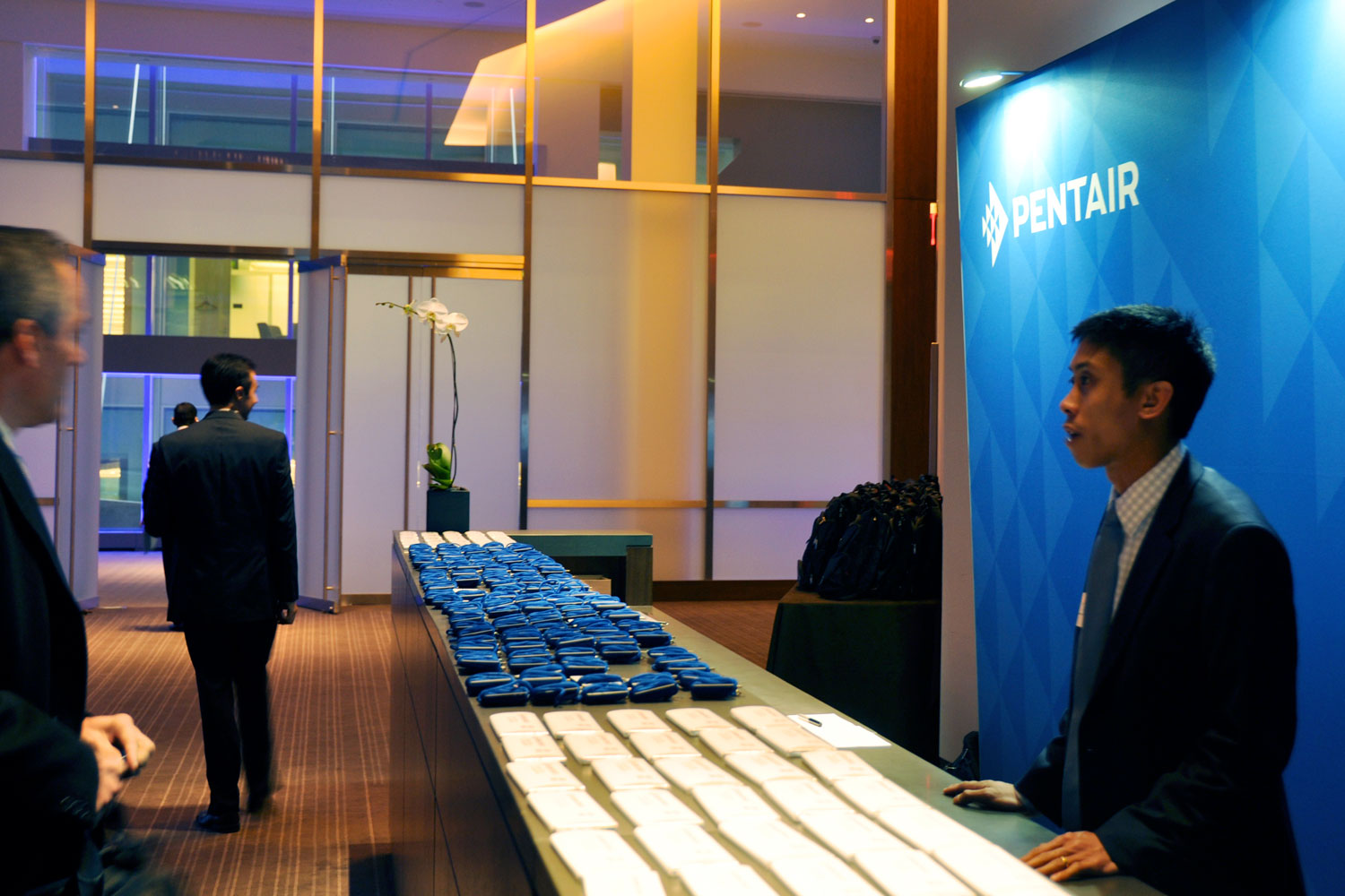 Pentair Investor and Analyst Day registration desk