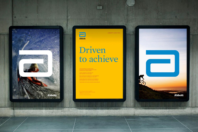 Abbott bus shelter advertising