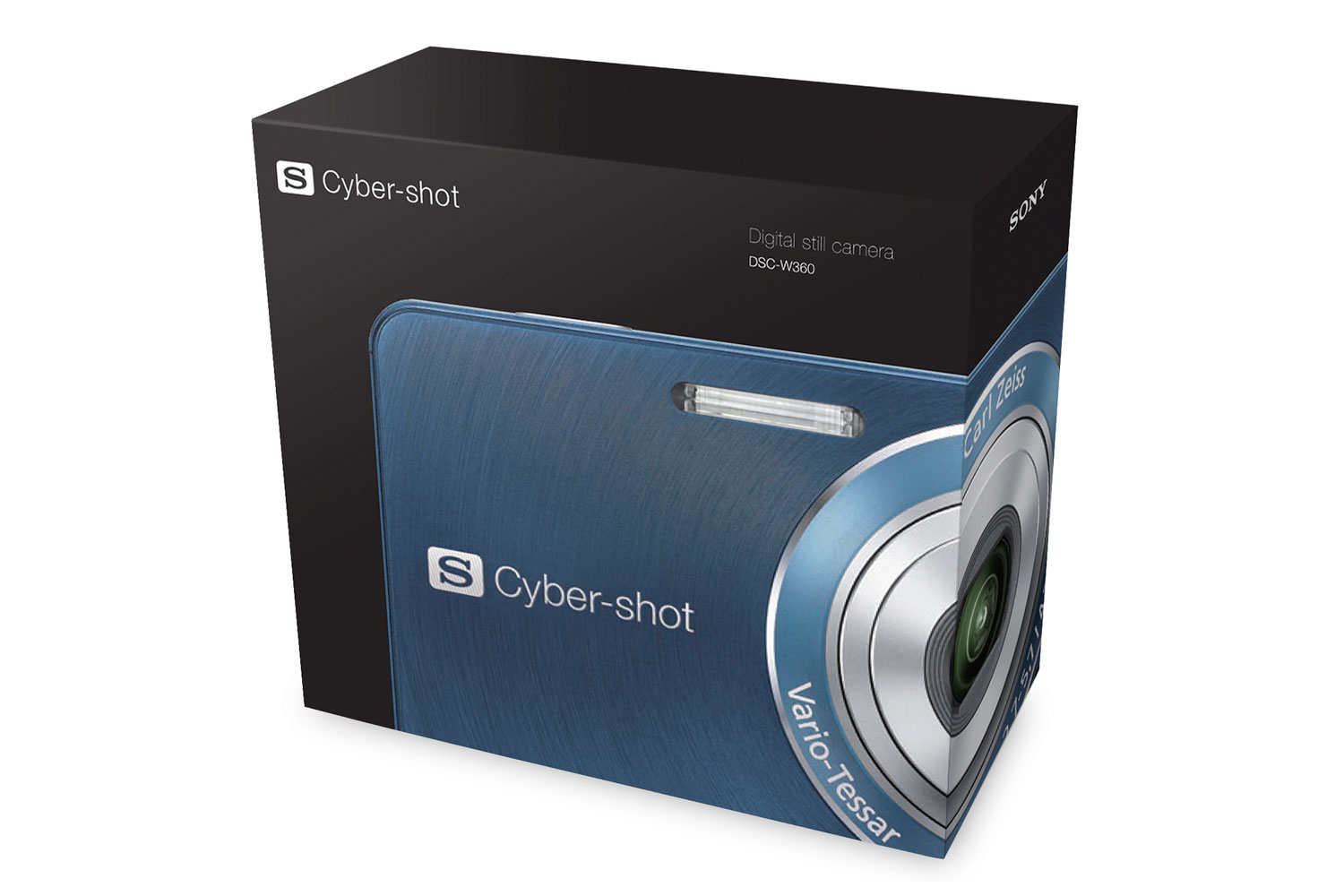Sony Cyber-shot packaging