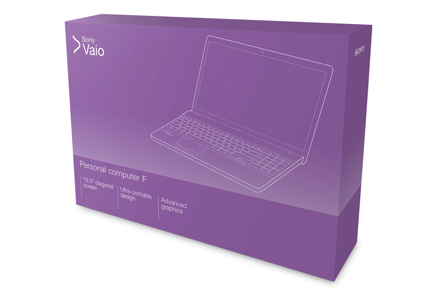 Sony Vaio packaging
