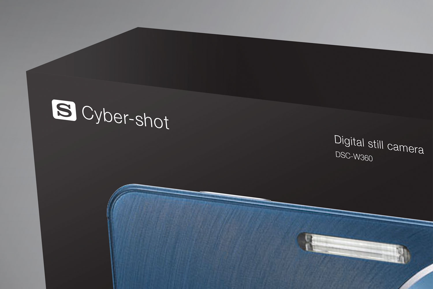 Sony Cyber-shot package close-up