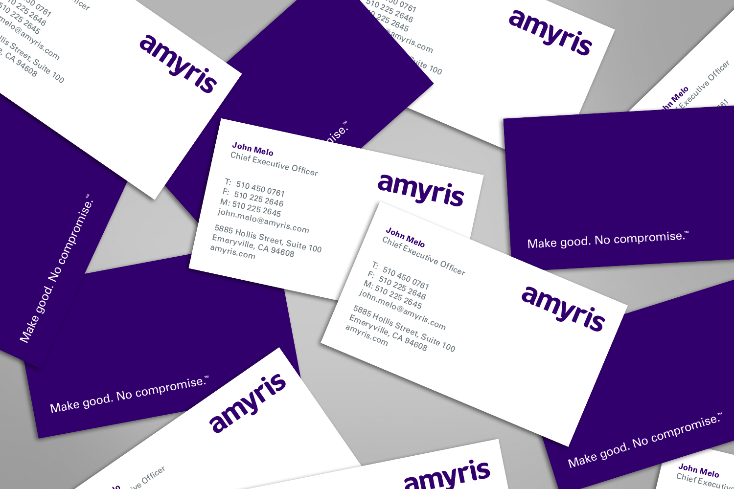 Amyris business cards