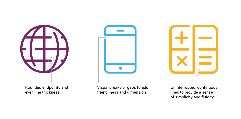 AICPA icon design highlights