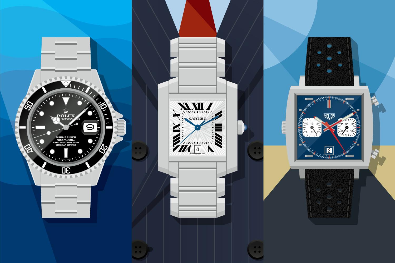 Time machines: Rolex Submariner Date, Cartier Tank and Heuer Monaco