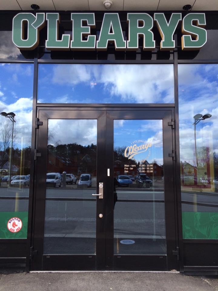 Mat og sport: Restauranten O'Learys åpnet dørene torsdag 30. mars