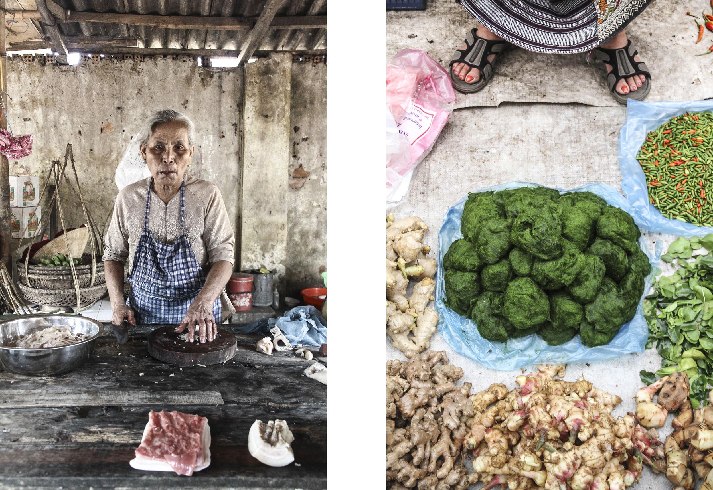 Morning market. Hoi An, Vietnam