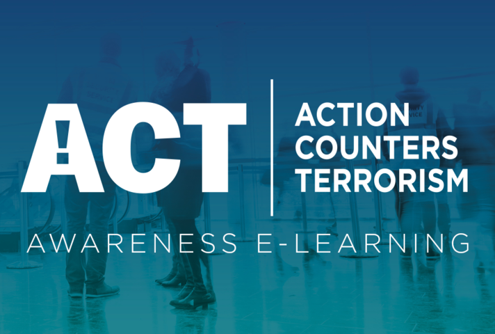 The ACT eLearning programme has been delivered in partnership with Highfield Learning and Counter Terrorism Policing.