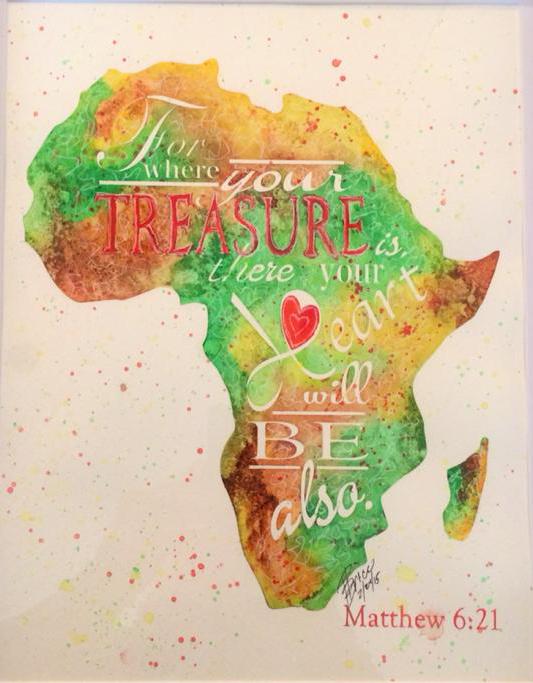 Africa - Matthew 6:21