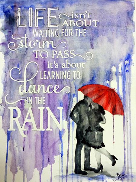 Dance in the Rain - Rain Series