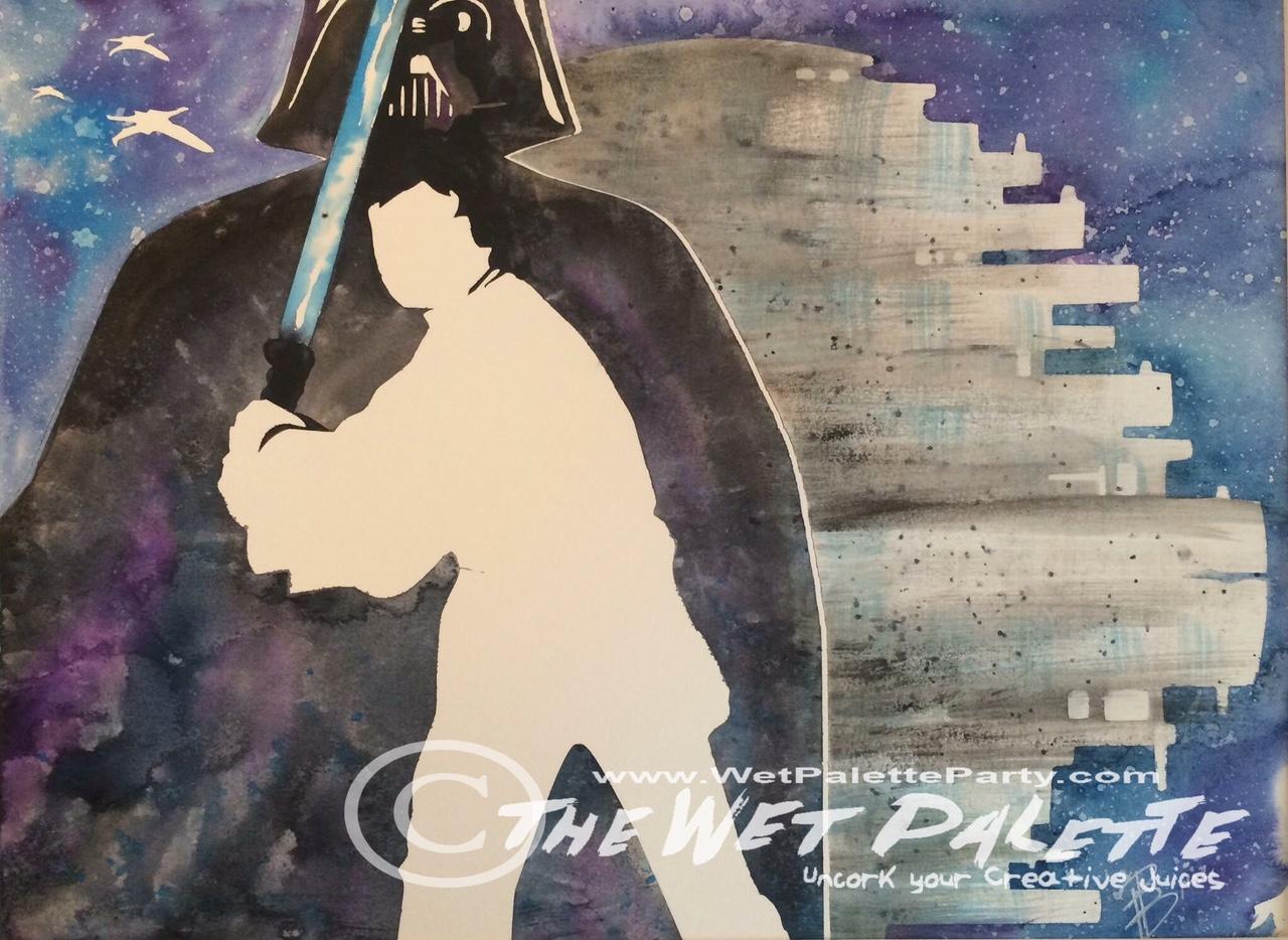 Star Wars - Vader/Luke/Death Star