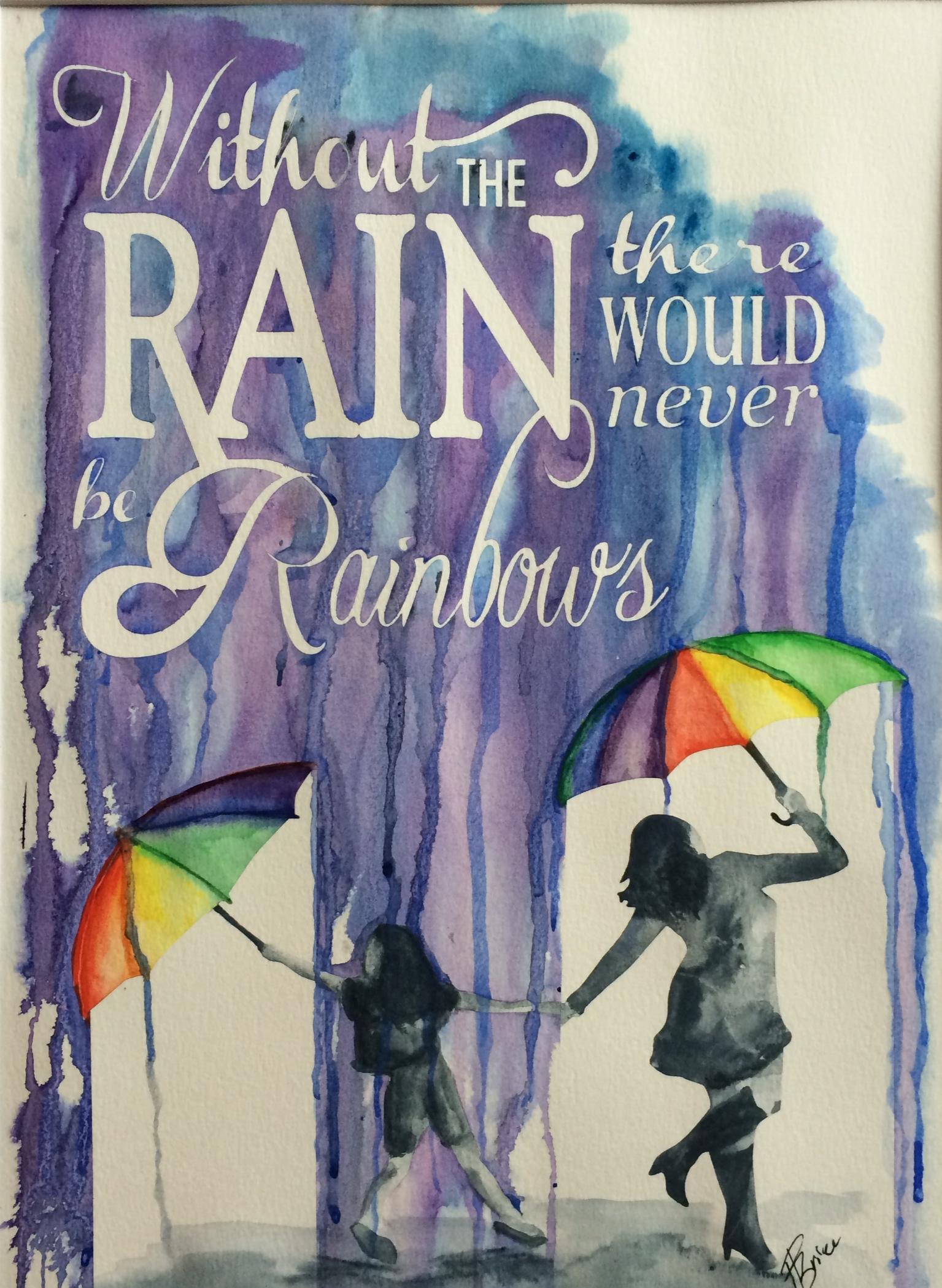 Rain Series - Rainbows