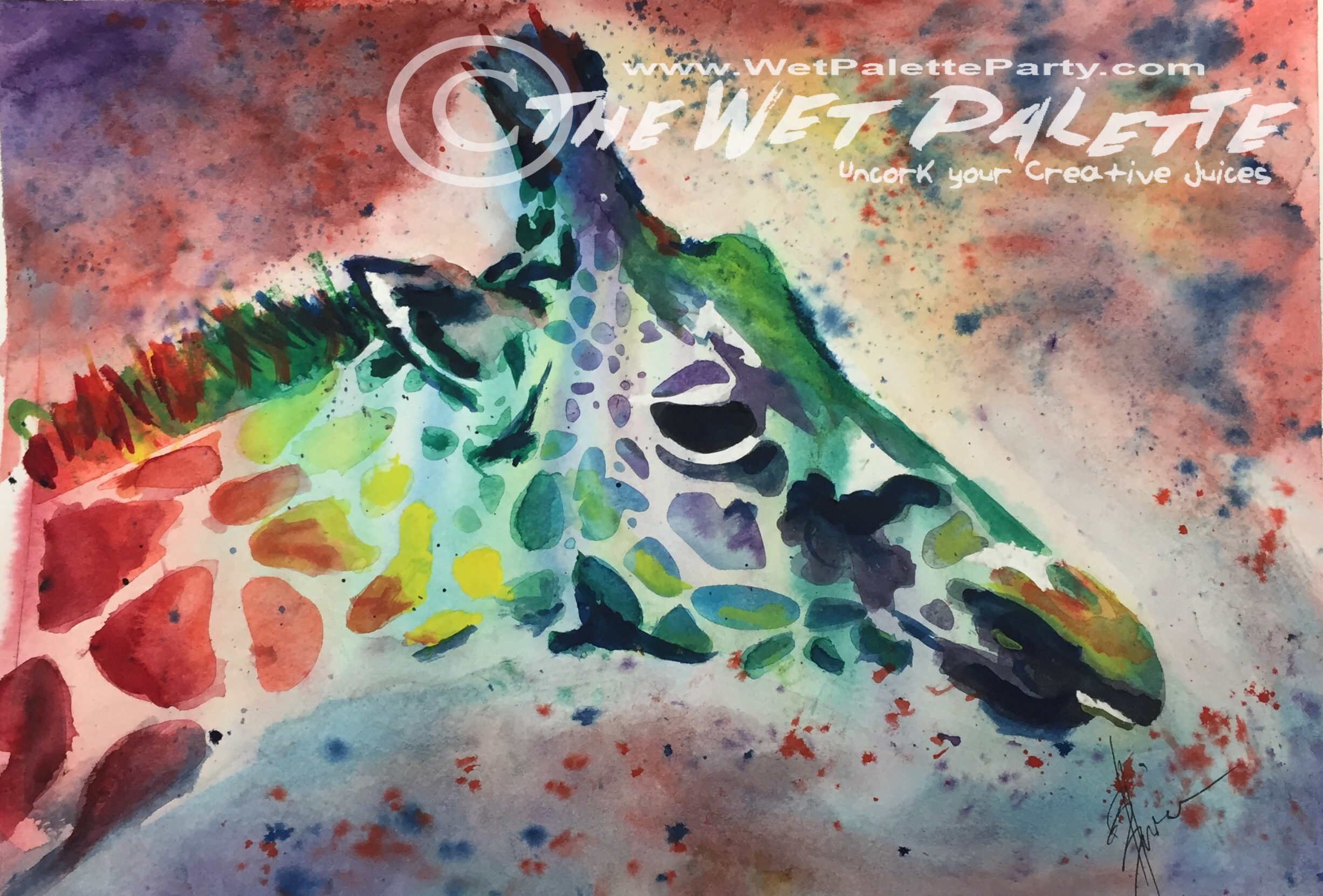 Paint the Wild - Giraffe