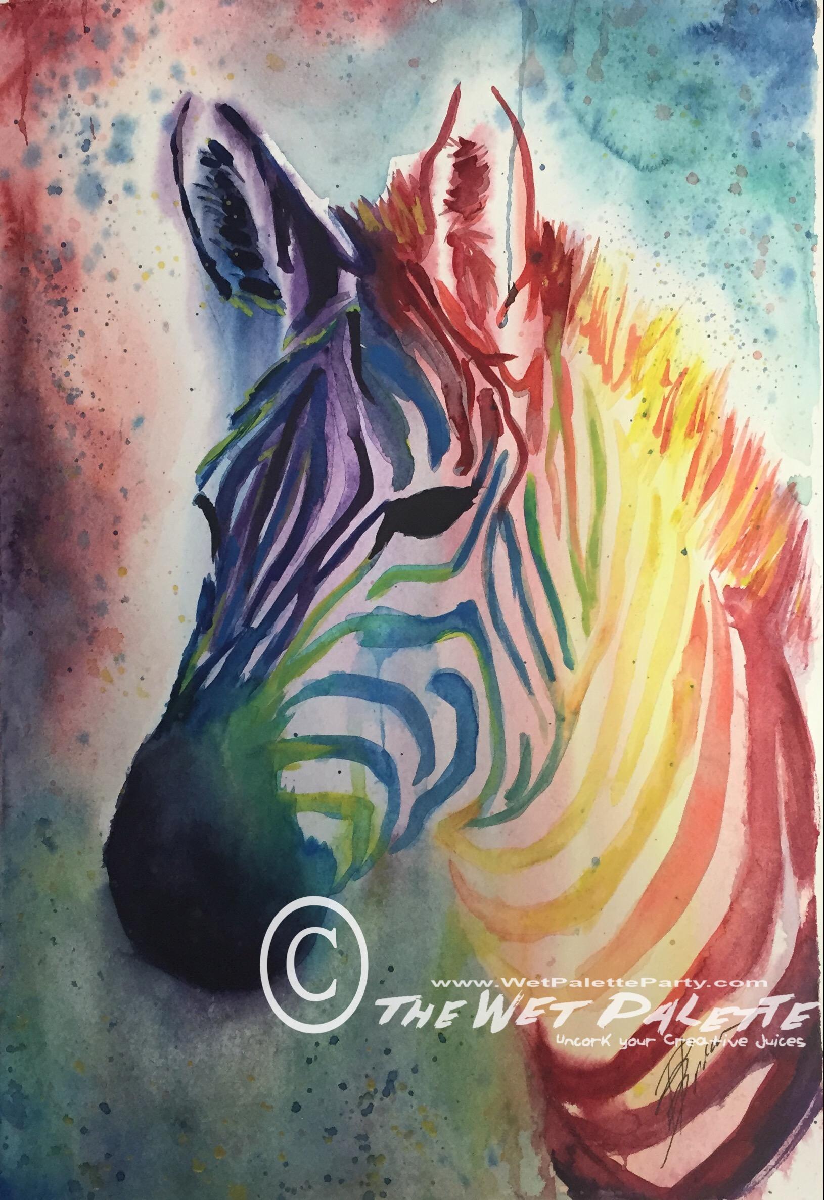 Paint the Wild - Zebra