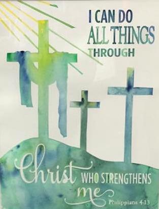 Design a Cross - Phillipians 4:13