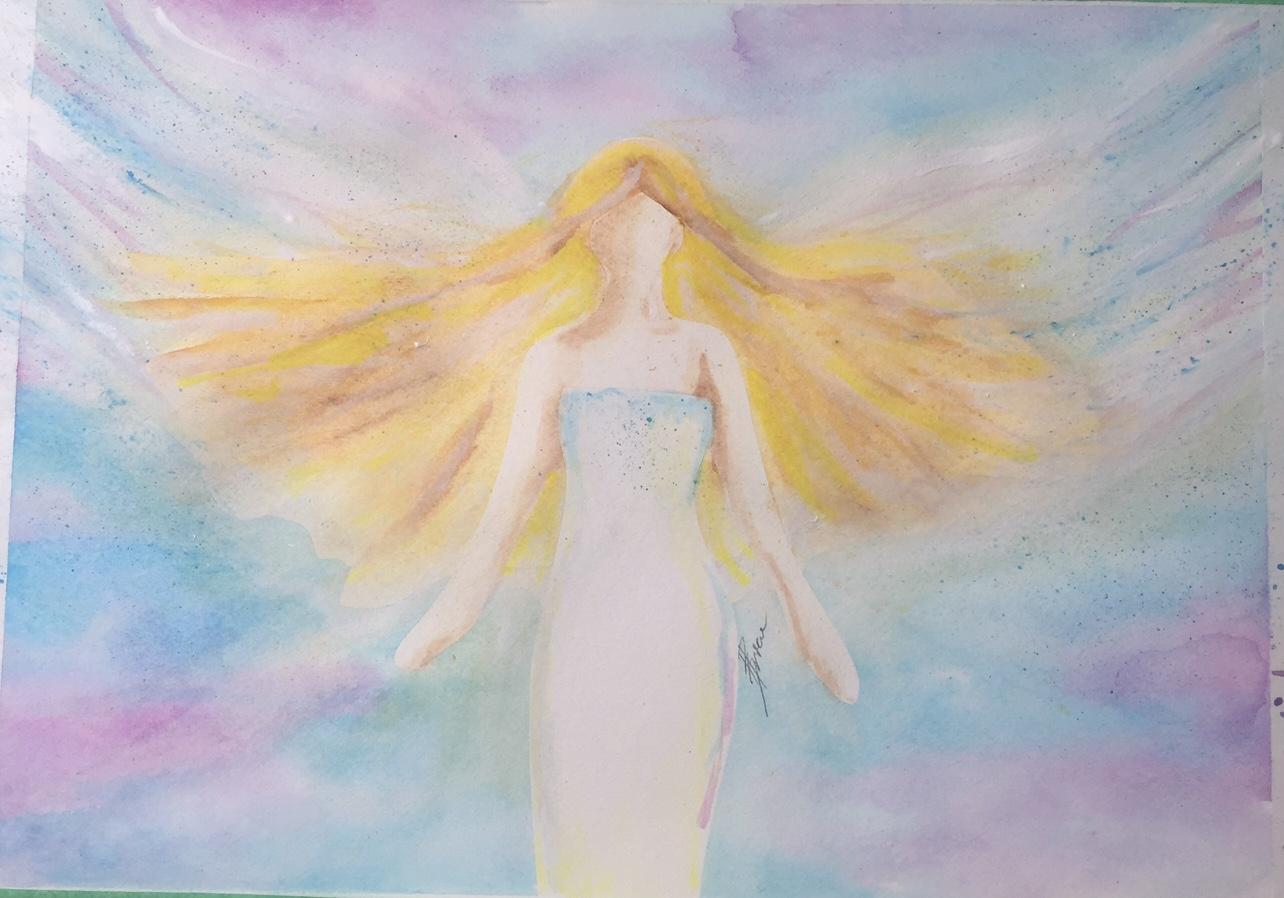 Angels Among Us - Landscape