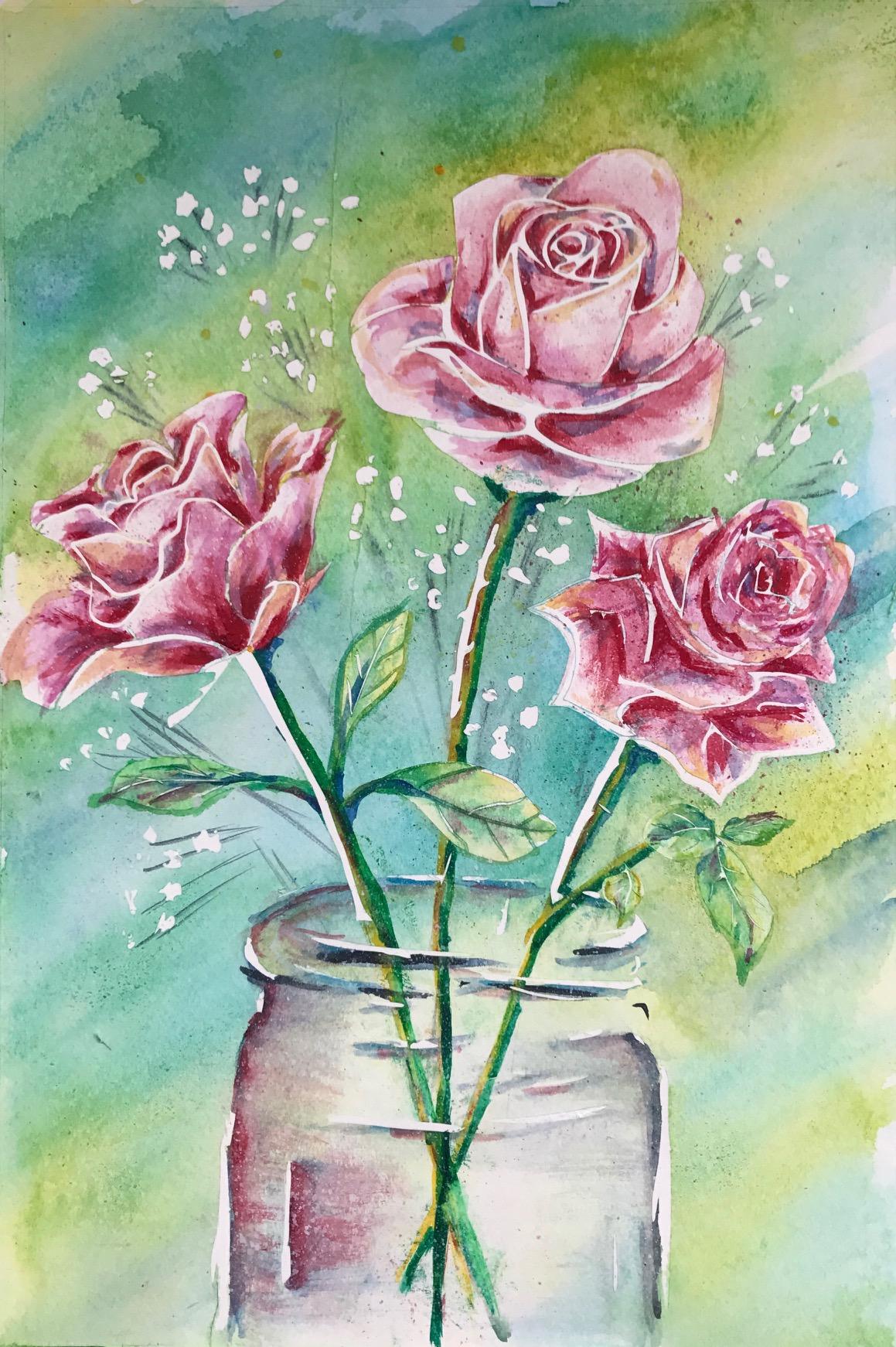 Roses in a Jar.jpg
