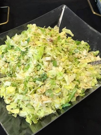 SALAD - $3.00/ppChoose Caesar Chopped salad or Asian Sesame SaladADD Chicken for $1.00/pp extra