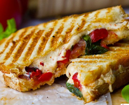 PANINI - $5.00/PP½ sandwich each - Choose Chicken Pesto, Italian or Gourmet Grilled Cheese