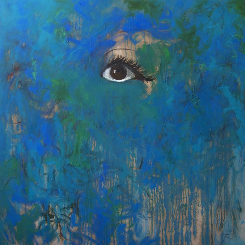 The Eye, 2014, 170 cm x 170 cm, oil on linen