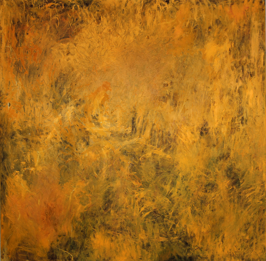 Yellow Field, 2011, 170 cm x 170 cm, oil on canvas
