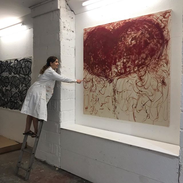 Installing SEVEN exhibition at Pbauhaus in Margate/Broadstairs alongside great artists from around the world - FB page sevenartists #turnercontemporary #turnerprize #margate19 #thanet #contemporaryart @pooja.ahoart @willowewinston @laura_migliorino
