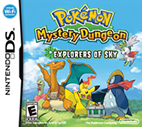 Pokémon Mystery Dungeon: Explorers of Sky (NDS)
