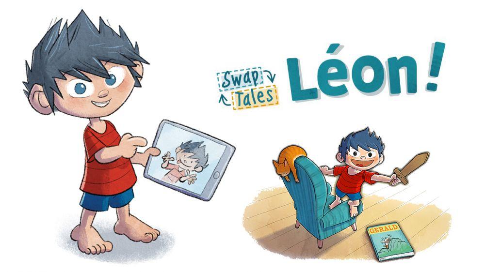 SwapTales: Leon!   (Android/iOS) — Gesamte deutsche Spielelokalisierung