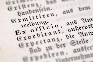 special german letter