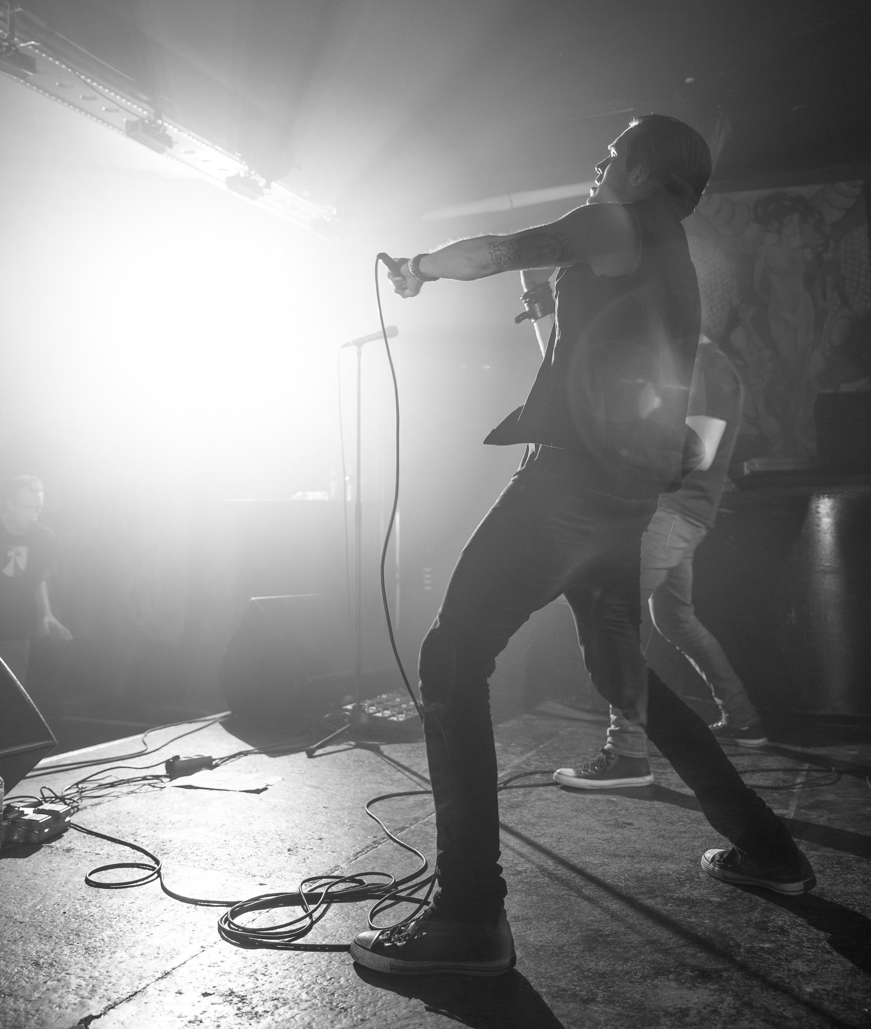 inglow rock concert at sage club in berlin