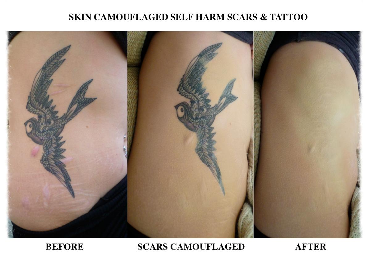 Skin Camouflage Makeup Tattoo