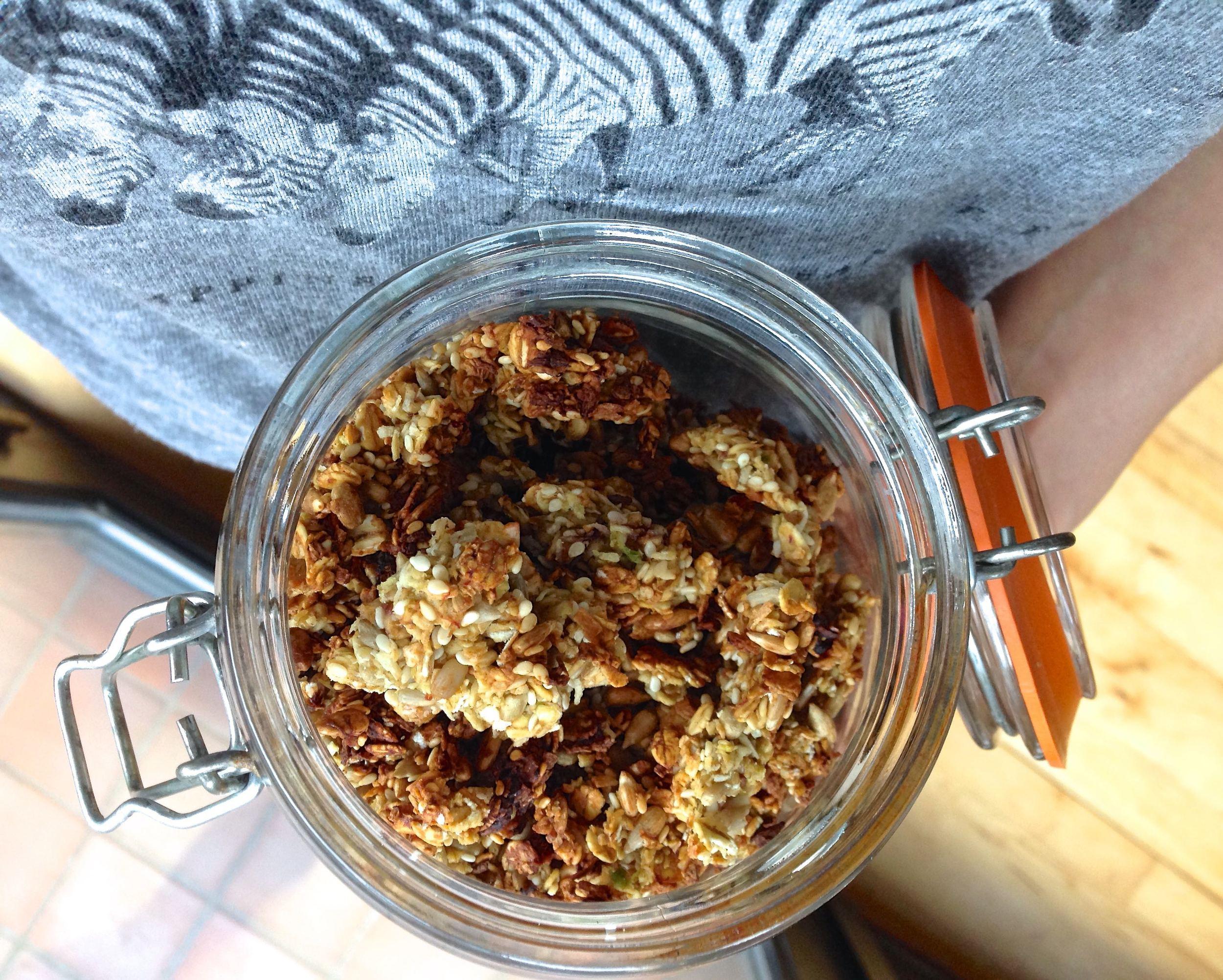 Crunchy-Avocado-Granola