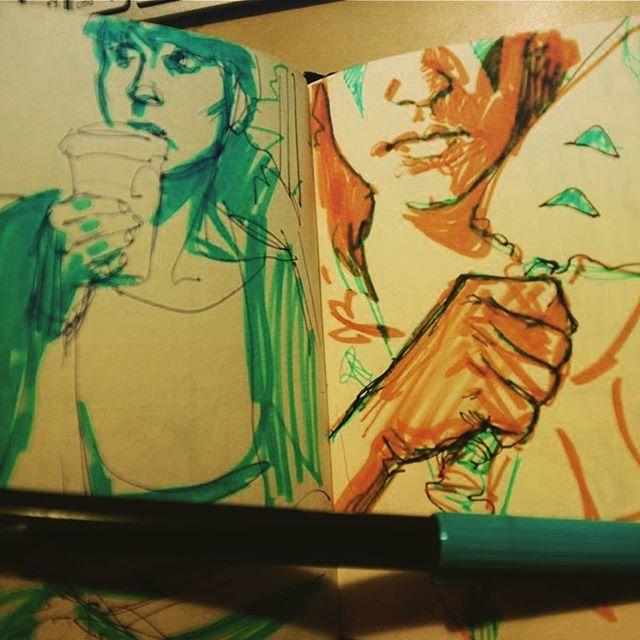 Old sketch #sketchbook #pen #doodle
