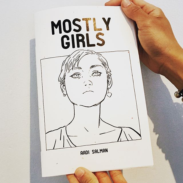 MOSTLY GIRLS zine is now on Etsy! See bio for link. #zine #mostlygirlszine