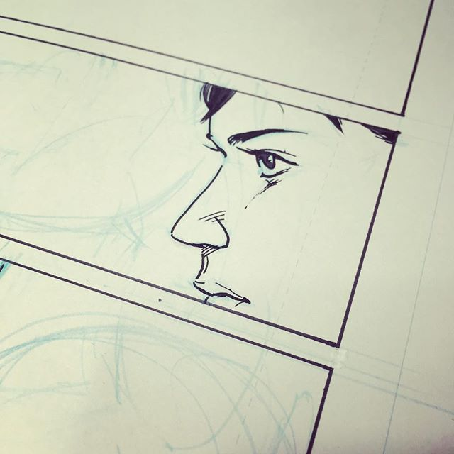 WIP #komiksiapa #makecomics