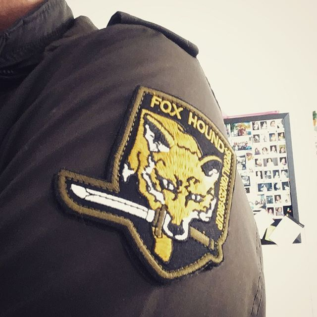 Geekery #foxhound #metalgearsolid
