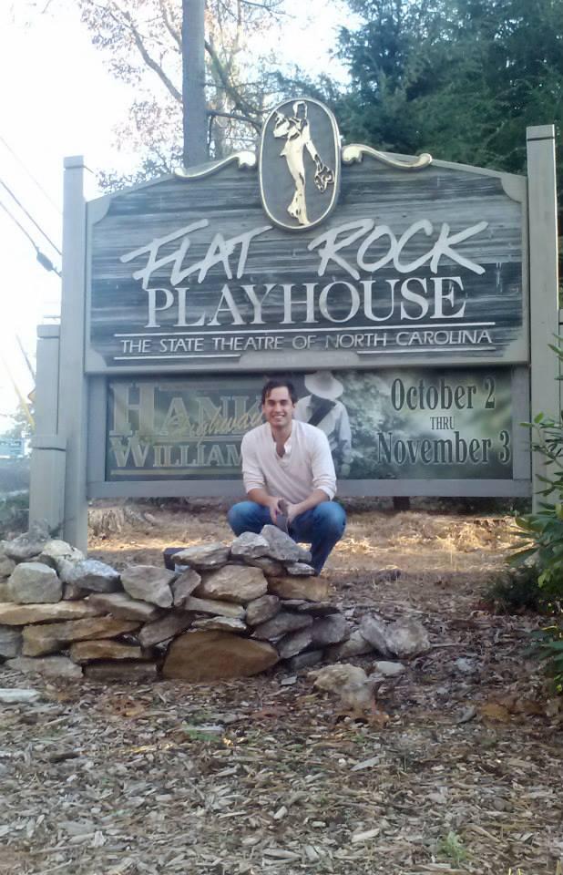At Flat Rock NC