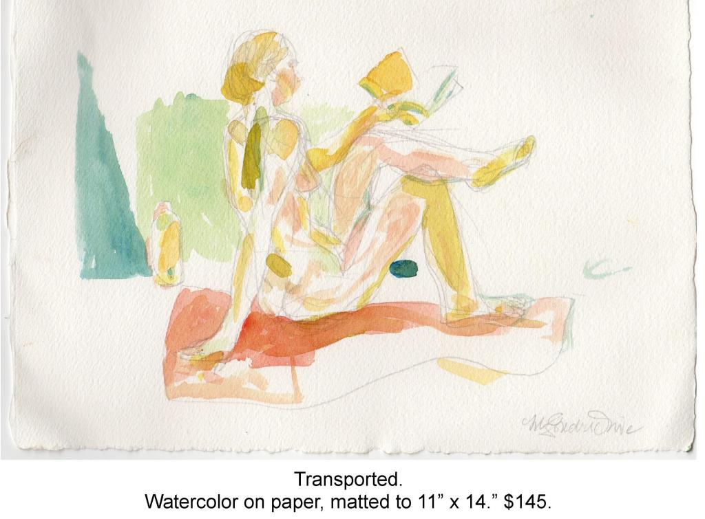 Fred Wise, Transported. Watercolor, pencil on paper, matted to 11 x 14 , 2014.jpg
