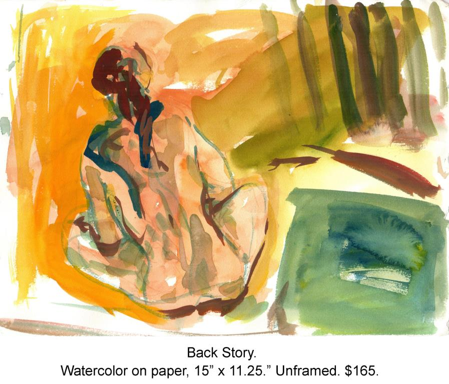 Fred Wise, Back Story. Watercolor on paper, 15 x 11.25, 2009.jpg