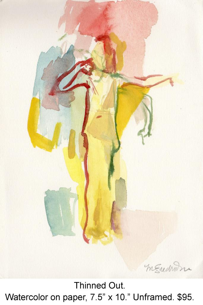 Fred Wise, Thinned Out. Watercolor on paper, 7.5 x 10, 2005, portfolio.jpg