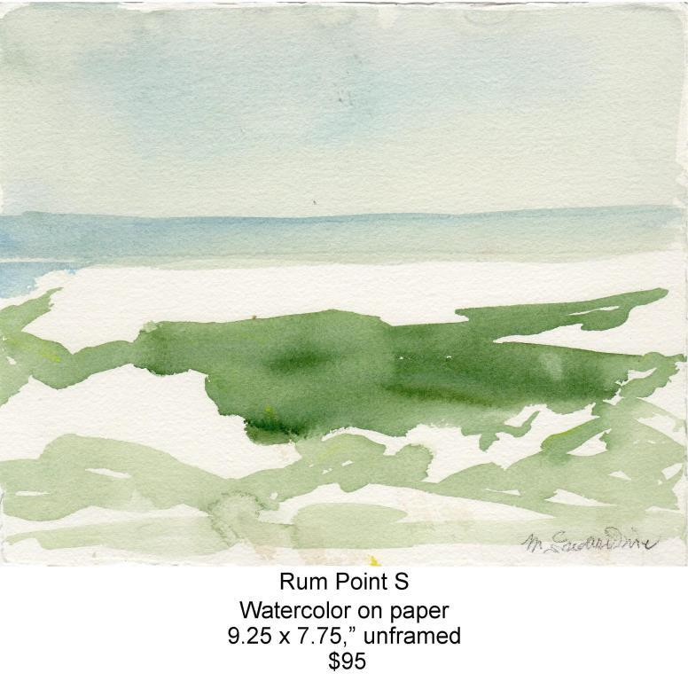 Fred Wise, Rum Point S. Watercolor, 9.25 x 7.75, 2013, web.jpg