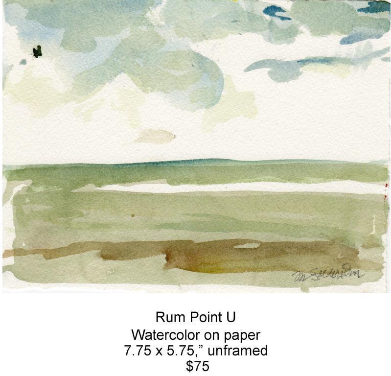 Fred Wise, Rum Point U. Watercolor, 7.75 x 5.75, 2013, web.jpg