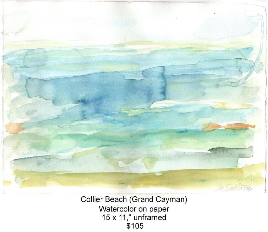 Fred Wise, Collier Beach. Watercolor, 15 x 11, 2016, web.jpg