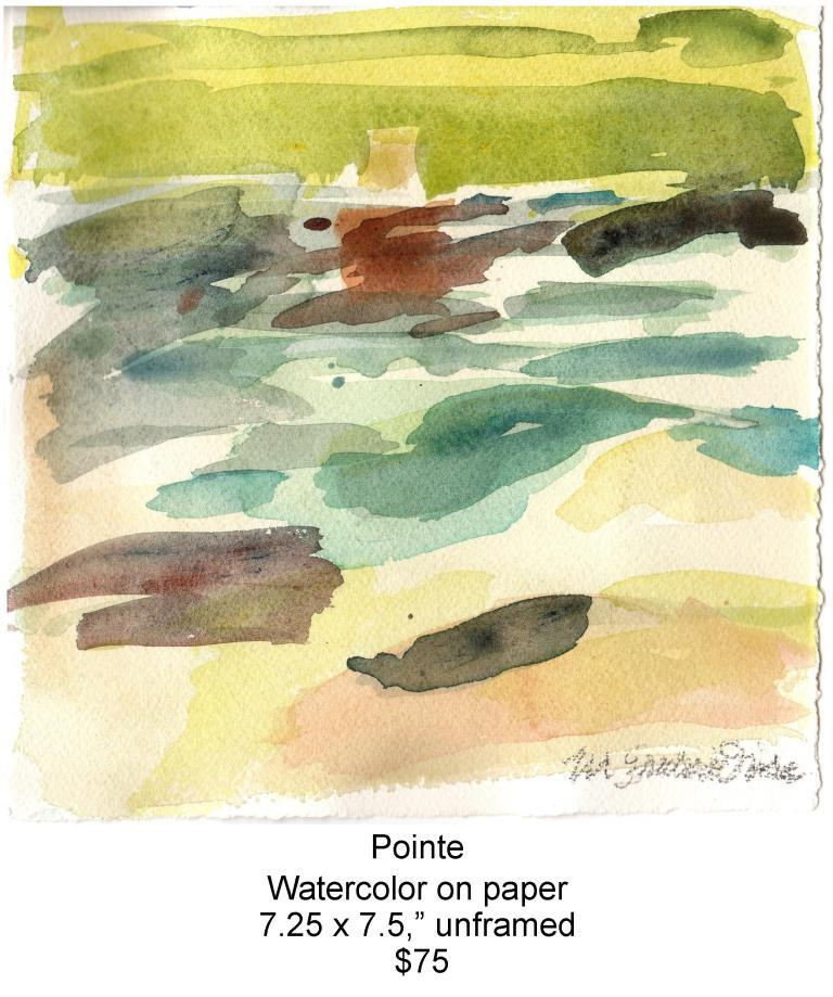 Fred Wise, Pointe. Watercolor, 7.25 x 7.5, 2016, web.jpg