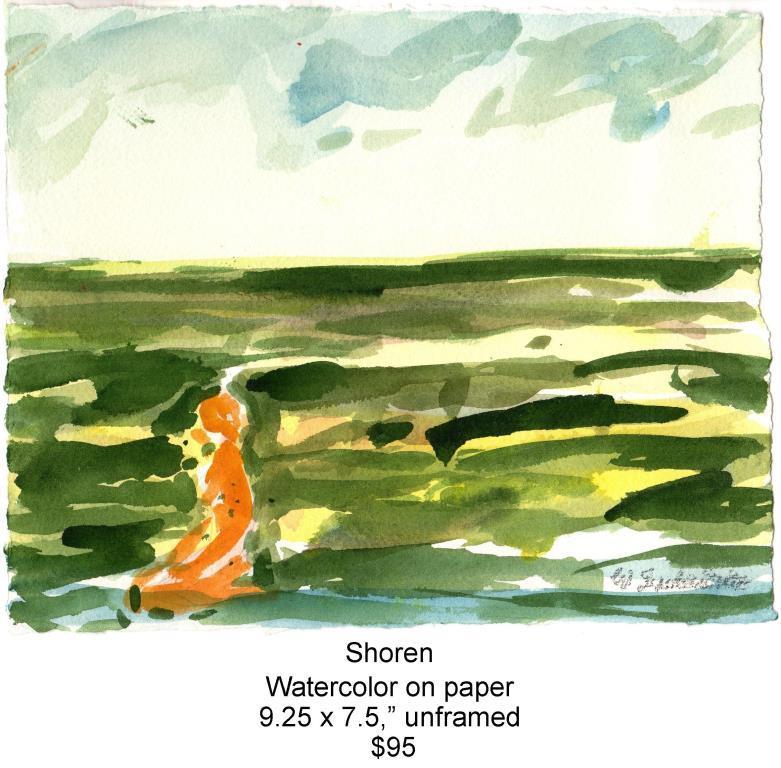 Fred Wise, Shoren. Watercolor, pencil, 9.25 x 7.5, 2013, web.jpg
