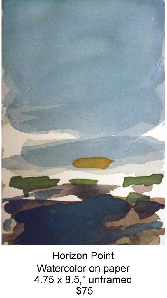 Fred Wise, Horizon Point. Watercolor, 4.75 x 8.5, 2009, web.jpg