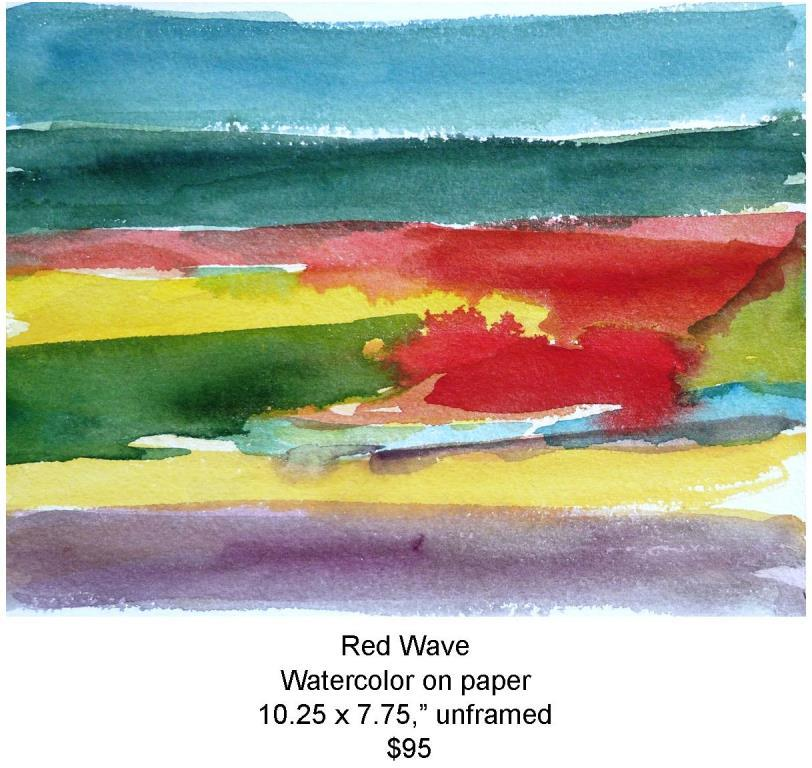 Fred Wise, Red Wave. Watercolor, 10.25 x 7.75, 2010, web.jpg