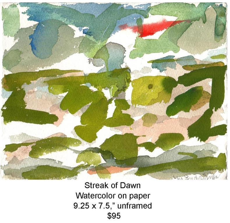 Fred Wise, Streak of Dawn. Watercolor, 9.25 x 7.5, 2009, web.jpg