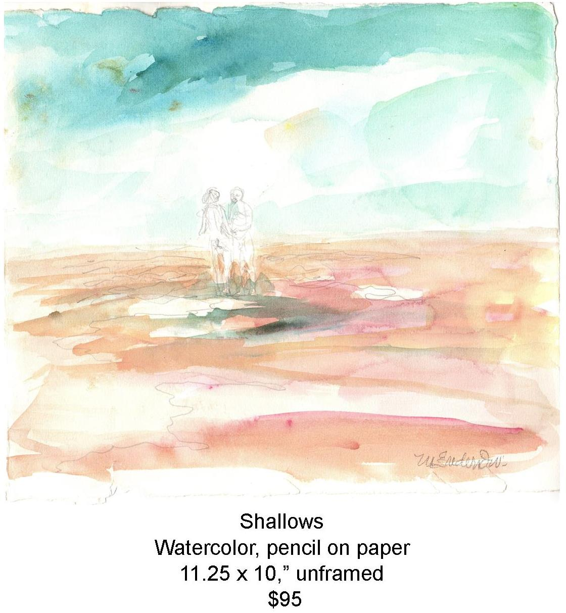 Fred Wise, Shallows. Watercolor, pencil, 11.25 x 10, 2011, web.jpg
